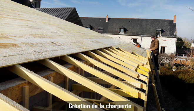 Construction bardage bois charpentes maison individuelle for Construction de maison individuelle henri renaud